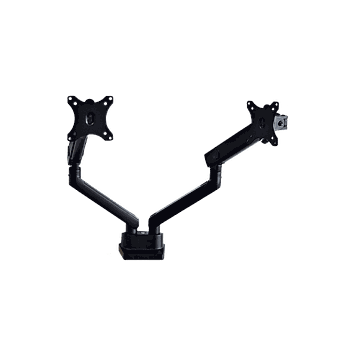 Twin Spring Assisted Monitor Arm Black
